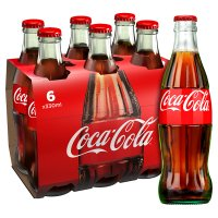 Coca-Cola multipack glass bottle