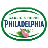 Philadelphia Light with garlic & herbs soft white cheese