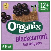 Organix organic goodies blackcurrant bars