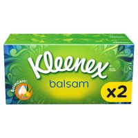 Kleenex Balsam Tissues, twin pack