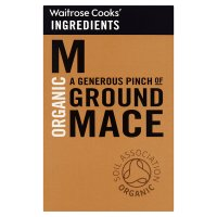 Waitrose Cooks' Ingredients organic ground mace