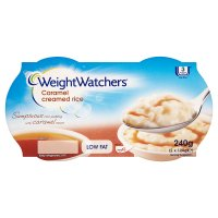 Weight Watchers caramel creamed rice