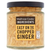 Waitrose Cooks' Ingredients chopped ginger