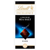 Lindt Excellence dark chocolate & sea salt