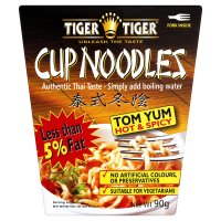 Tiger Tiger cup noodles tom yum