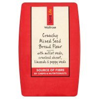 Waitrose LoveLife Calorie Controlled crunchy mixed seed bread flour
