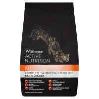 Waitrose active nutrition kitten rich in chicken