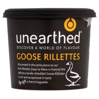 Unearthed goose rillettes