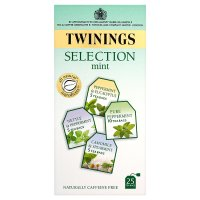 Twinings mint selection 25 tea bags