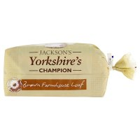 Jackson's Yorkshire's champion brown farmhouse loaf