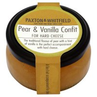 Paxton & Whitfield pear & vanilla confit