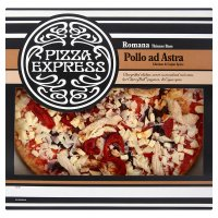Pizza Express Romana thinner base pollo ad astra