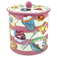 Emma Ball teatime biscuit barrel