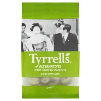 Tyrrells alternatives spicy coated peanuts