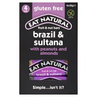 Eat Natural brazils sultanas almonds