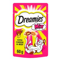 Dreamies mix with cheese & beef