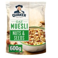 Quaker Oats Oat Muesli Nuts & Seeds