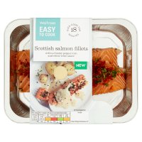 Easy To Cook Scottish Salmon Fillets Peppercorn