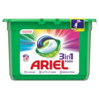 Ariel 3in1 PODS Colour Washing Capsules 19 washes