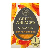Green & Black's organic butterscotch egg