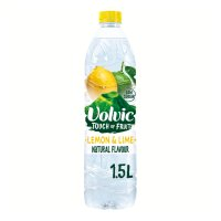 Volvic still touch of fruit lemon & lime