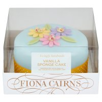 Fiona Cairns Seasonal Golden Sponge Gift Cake
