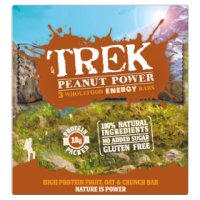 Trek Peanut Power Energy Bars