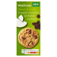 Waitrose 8 Apple Crumble All Butter Cookies