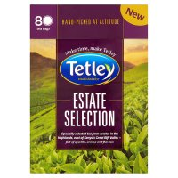 Tetley estate selection 80 bags