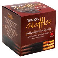 Tregroes dark chocolate waffles