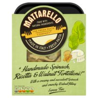 The Fresh Pasta Company Ltd spinach, ricotta & walnut tortelini