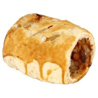Waitrose handcrafted pork, turkey & cranberry sausage roll