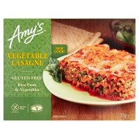 Amy's Kitchen vegetable lasagne