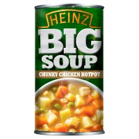 Heinz Big Soup chunky chicken hotpot