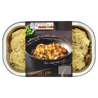 menu from Waitrose Crunchy topped cottage pie