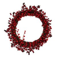 Waitrose Christmas Red Berry Wreath