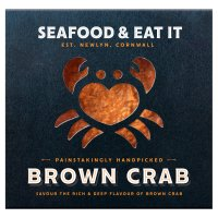 Seafood & Eat It handpicked brown Cornish crab