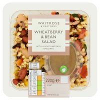 Waitrose wheatberry & bean salad