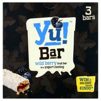 Yu! Bar wild berry