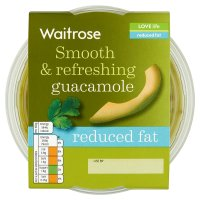 Waitrose guacamole reduced fat