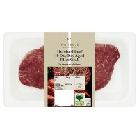 Waitrose 1 30 day dry aged Hereford beef fillet steak