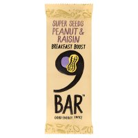 9Bar Breakfast Boost Peanut & Raisin