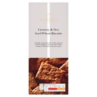 Waitrose 1 caraway & five-seed wholemeal biscuits