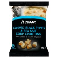 Ainsley Harriott pepper & sea salt soup croutons