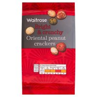 Waitrose oriental peanut crackers