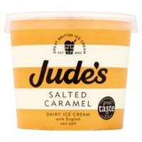 Jude's salted caramel dairy ice cream