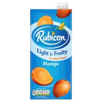 Rubicon Light & Fruity Mango
