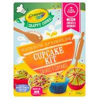 Crayola Crafty Cooks Cupcake Kit
