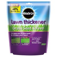 Miracle-Gro lawn thickener