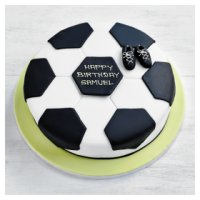Fiona Cairns Football Cake - 20cm